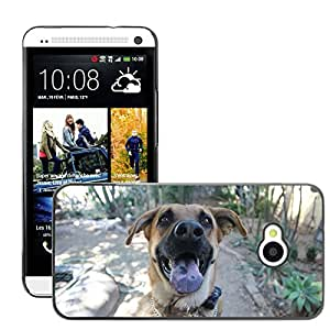 Cas Coq Case Cover // M00147125 Pastor alemán Perro Mascota Animal // HTC One M7