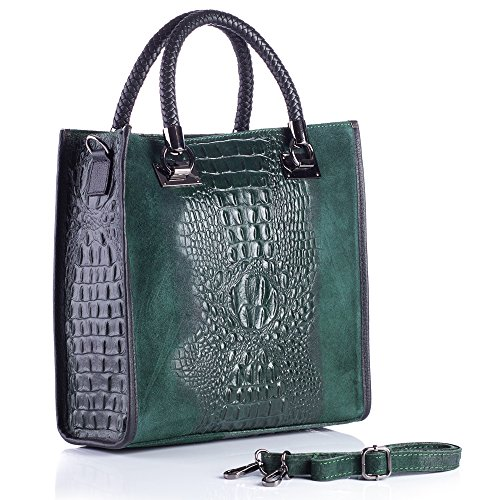 Dandibo 300002 - Tote Bag For Green Woman - Black
