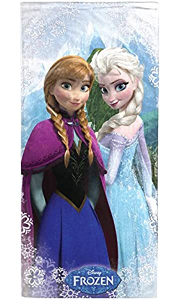 Disney Frozen Snowflake 100% Cotton Beach Towel