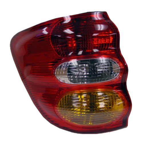 Toyota Sequoia Tail Lamp - TYC 11-6104-00 Toyota Sequoia Driver Side Replacement Tail Light Assembly