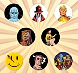 Watchmen Set of 8 - 1 Inch Pinback Buttons