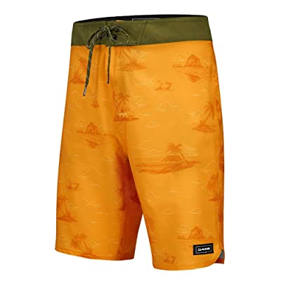 "Dakine Men's Roots 20"" Boardshorts (Oceanfront, 32) at Men's Clothing store"