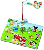 Mickey Mouse Clubhouse Hide and Seek Wooden Magnetic Game
