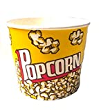 DROP Paper Popcorn Cup 64oz, Case of 25
