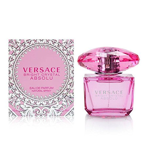 Versace Bright Crystal Absolu Eau de Perfume Spray, 3.0 Ounce (Crystal Perfume Bright)