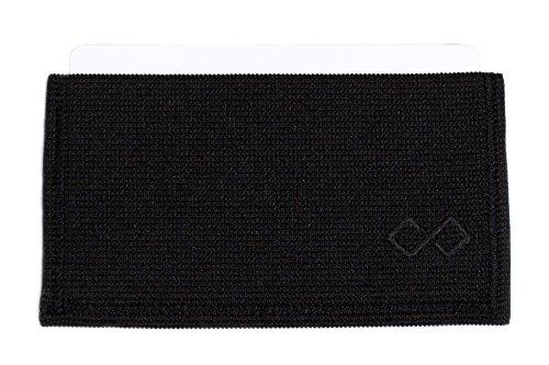 Infinity Wallet Men's Minimalist Wallet (Black)