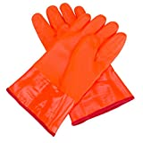 JoyUtoy PVC Heat Resistant and Chemical Resistant Safety Glove Oven Mitt (30cm)