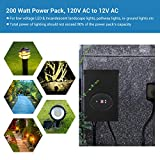 DEWENWILS 200W Outdoor Low Voltage Transformer with