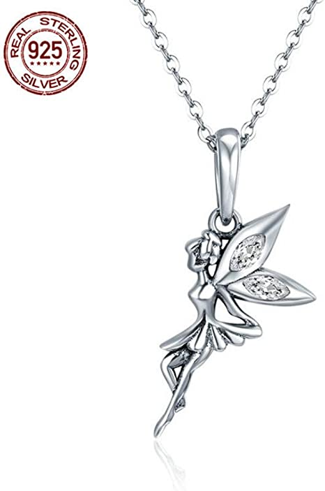 45cm // 18 inch 925 Sterling Silver Dragonfly Pendant Necklace Design 4