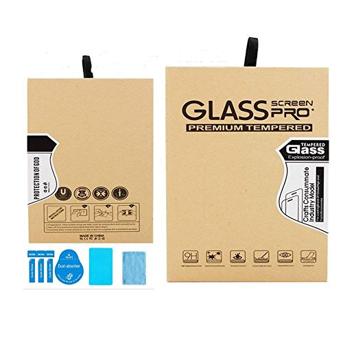 Zshion Lenovo Miix 520 Screen Protector,9H Hardness Tempered Glass Screen Protector for Lenovo Miix 520 with Anti-fingerprint Bubble-Free Crystal Clear by Zshion (Image #3)