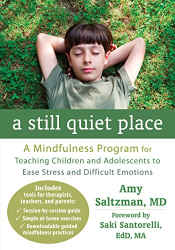 A Still Quiet Place: A Mindfulness Program for Teaching Children and Adolescents to Ease Stress and Difficult Emotions by Saltzman MD, Amy (2014) Paperback