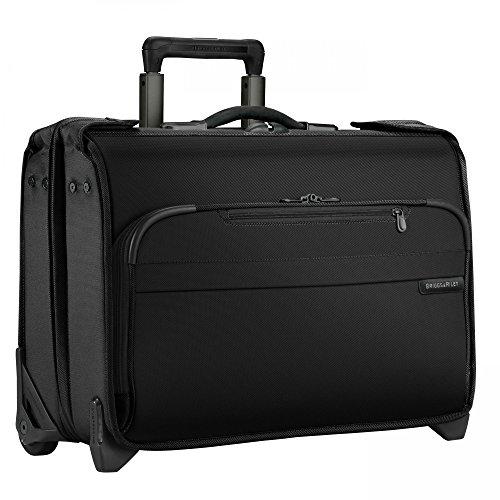 Briggs & Riley Lightweight Garment Bag - Briggs & Riley Baseline Carry-On Wheeled Garment Bag (Black)