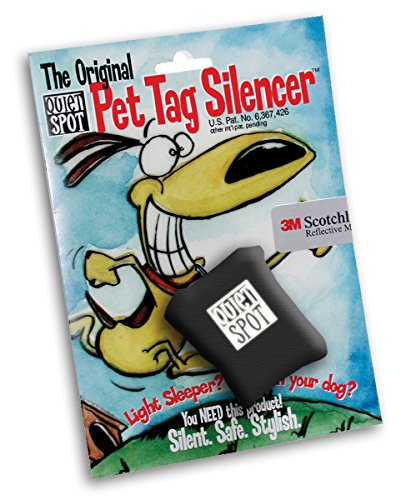 - Quiet Spot Pet Tag Silencer (Black)
