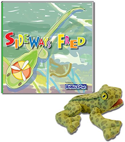 "Gift Set Includes ""Sideways Fred"" – Soft Cover Story of Determination & Folkmanis ()"