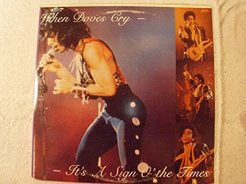 When Doves Cry It's A Sign O' The Times Live 1987 LP (Prince Sign O The Times Live 1987)