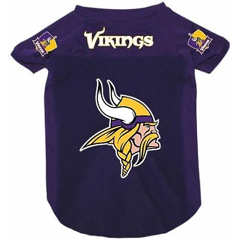 timeless design 56509 c2f4e Minnesota Vikings Pet Dog Football Jersey Alternate XL