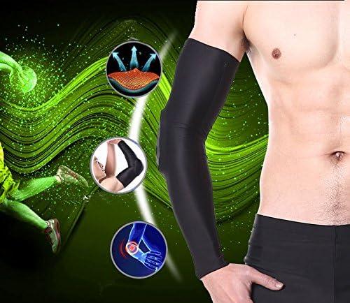 1 par de mangas para el brazo con codera para protecci/ón solar mientras practicas deporte