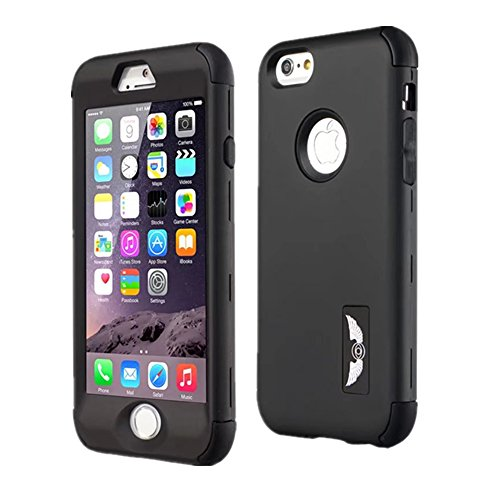 iPhone 6/6S Plus Case GreenElec Ultra Thin and Slim Shockproof Hard Plastic and Soft Silicon Rubber Anti-Scratch Protective Case Fit for Apple iPhone 6 Plus, iPhone 6S Plus (5.5 inch)