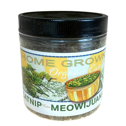Meowijuana Catnip, Feline Approved, Infused with Maximum Potency Your Cat is Guaranteed to go Crazy for! by Meowijuana
