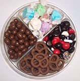 Scott's Cakes 4-Pack Nougat Taffy, Licorice Mix, Chocolate Pretzels, & Chocolate Peanuts
