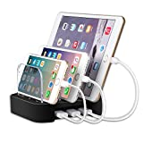 Charging Station for Multiple Devices like iPhone/ iPad/ Universal Smart Phones and Tablets