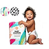 Parasol Baby Diapers, Hypoallergenic, Chlorine Free, Sensitive Skin Safe, Ultra Soft, Super Absorbent  - Premium Quality, Size 1, Dream Collection, 66 Count
