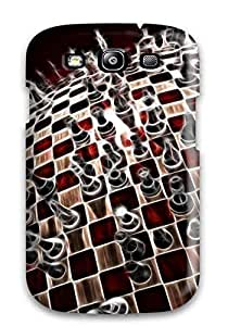 Best Hard Plastic Galaxy S3 Case Back Cover,hot Abstract Fractalius Case At Perfect Diy