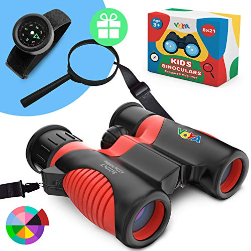New Real Binoculars for Kids high Resolution 8x21 with New