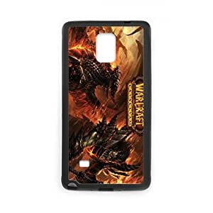 World of Warcraft Samsung Galaxy Note 4 Cell Phone Case Black TQ7181425