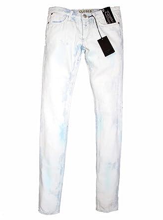 CLOSED Damen-Hose Damen-Jeans Marken-Jeans weiß in Größe 31 Weiß ... 7676e0e1cb