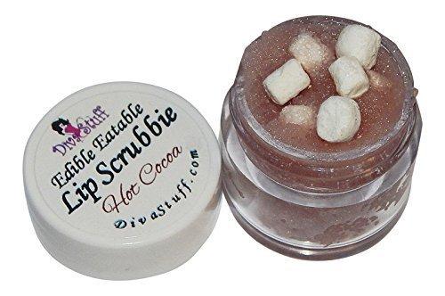 Hot Cocoa with Mini Marshmallows Lip Scrubbie  by Diva Stuff - 1/4 ounce