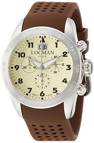 LOCMAN watch ISOLA D'ELBA 0460A04-00AVBKSN Men's