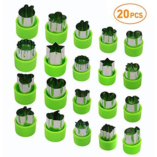Food Cut Outs - Joyoldelf Vegetable Cutters Set (20