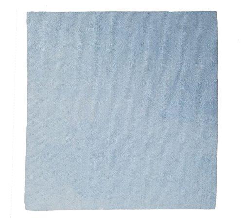コネクト マイクロファイバー クロス 超極細繊維 超音波カット 厚手A 40cm×40cm 20枚セット ブルー B07CRZGK4Z  40cm×40cm