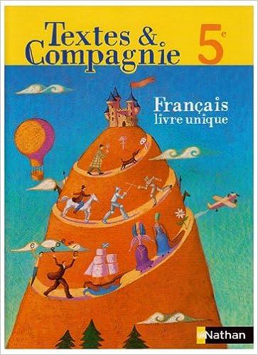 Livres Français 5e pdf ebook