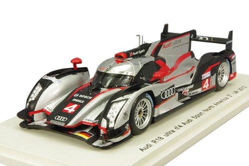 1/43 アウディ R18 e-tron quattro アウディスポーツチーム ノースアメリカ 2012年 ル・マン24時間 3位 #4 M.Bonanomi/O.Jarvis/M.Rockenfeller S3703