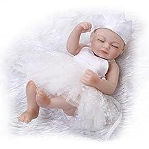11 inch Mini Lifelike Washable Sleeping Reborn Baby Girl Dolls