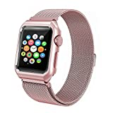 Best Case Covers With Adjustable - NCANGU DIRECT Apple Watch Band Milanese Loop Adjustable Review