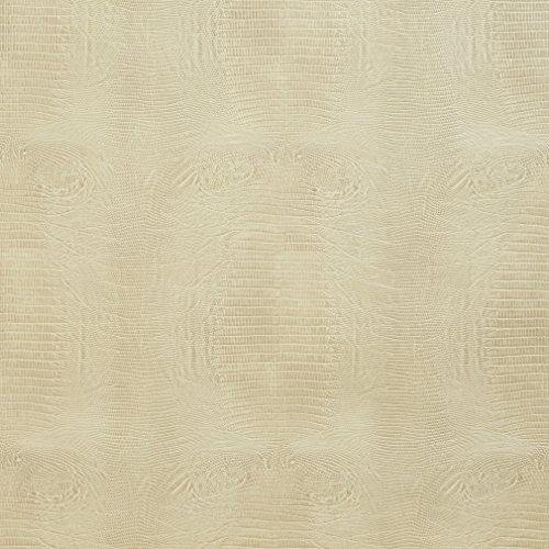 Mitchell Leather Furniture - G010 Ivory Alligator Faux Leather Vinyl By The Yard From Mitchell Faux Leathers