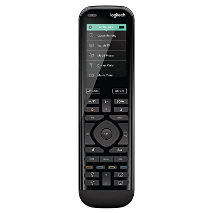 97eb35f15a2 Amazon.com: Logitech Harmony Elite Remote Control (915-000256) (Renewed):  Electronics