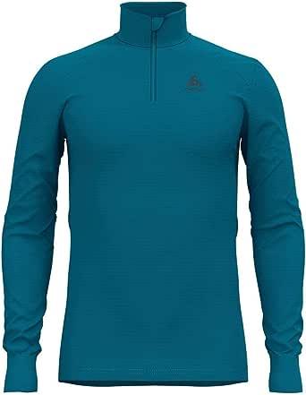 Odlo Bl Top Turtle Neck L/S Half Zip Active Warm Camiseta Hombre