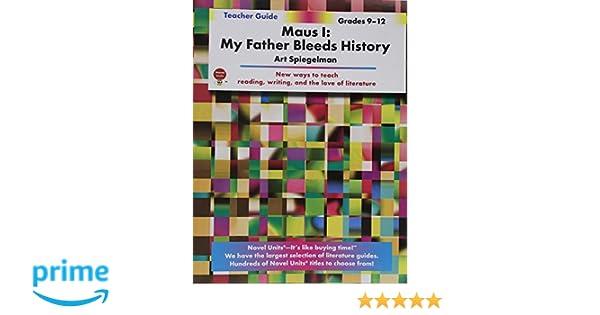 Maus 1: My Father Bleeds History Teacher Guide by Novel Units, Inc ...