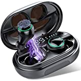 MuGo Wireless Earbuds, Bluetooth Headphones with 3500mAh Charging Case, IP8 Waterproof Wireless Headphones, Bluetooth…