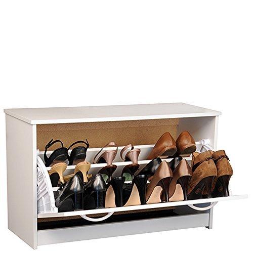 Venture Horizon Single Shoe Cabinet- White