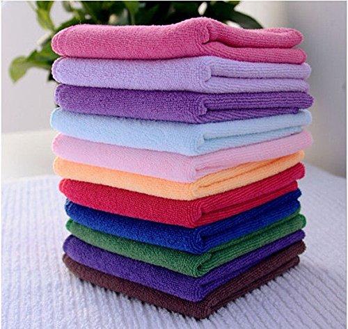 FidgetGear Wholesale 100x Car home Microfiber Cleaning Towel Wahsing Hand Towels Wash from FidgetGear