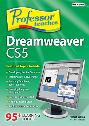 Professor Teaches Dreamweaver CS5  [Download] by Individual Software