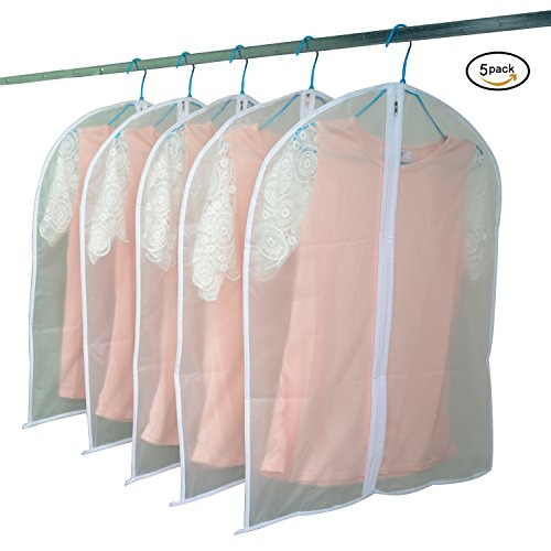 Simplized Life Transparent Travel Garment Suit Clothes Cover