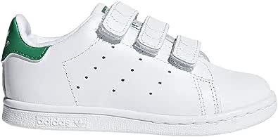 adidas Originals Baby Stan Smith CF I Running Shoe, White/Green, 9.5 M US Infant: Amazon.es: Zapatos y complementos
