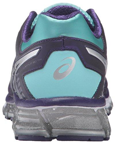 Asics mujer gel-quantum 180TR cross-trainer Shoe Parachute Purple/Silver/Aruba Blue