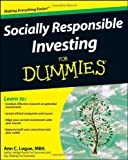 img - for Socially Responsible Investing For Dummies by Ann C. Logue (2008-12-31) book / textbook / text book